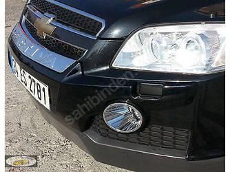 Передняя накладка (пластик) - Chevrolet Captiva 2006+ и 2011+ гг.