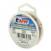 Поводковый материал AFW Surfstrand Micro Ultra 1х19