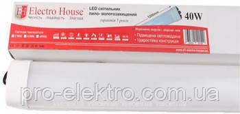 Светильник пыле и влагозащищенный (ПВЗ) EH-LT-3041 40W 1200мм 6500K 210° 3200Lm