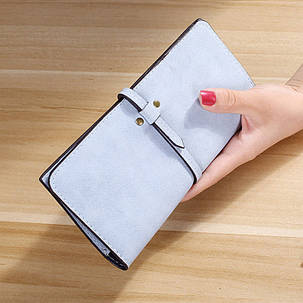 Оригинальный матовый женский кошелек, фото 2