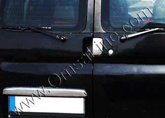 Накладка над номером (Двухдверный, нерж.) - Citroen Berlingo 1996-2008 гг.