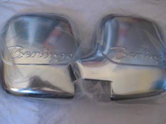 Накладки на зеркала (2 шт., пласт.) - Citroen Berlingo 1996-2008 гг.