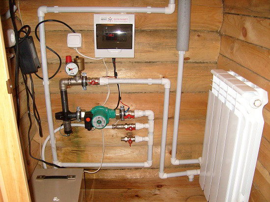 Система закрытого отопления