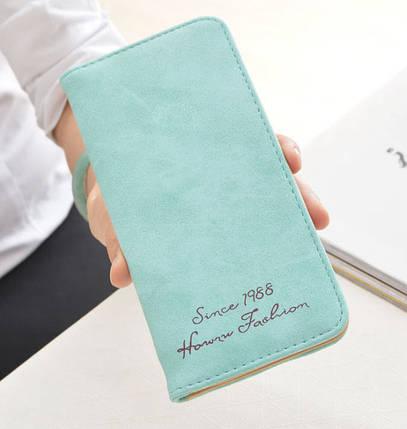 Стильный матовый женский кошелек, фото 2