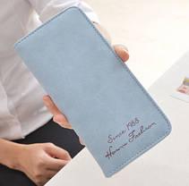 Стильный матовый женский кошелек, фото 3