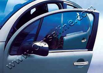 Наружняя окантовка стекол (нерж.) - Citroen C-2 2003-2009 гг.