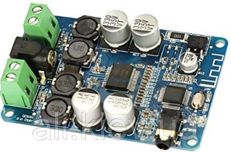 Усилитель звука D-клас 2*25Вт AUX Bluetooth TDA7492