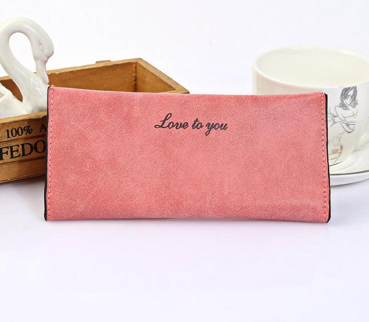 Стильний жіночий гаманець Love to you