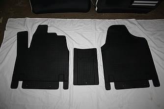 Гумові килимки (3 шт, Polytep) - Citroen Jumpy 1996-2007 рр.