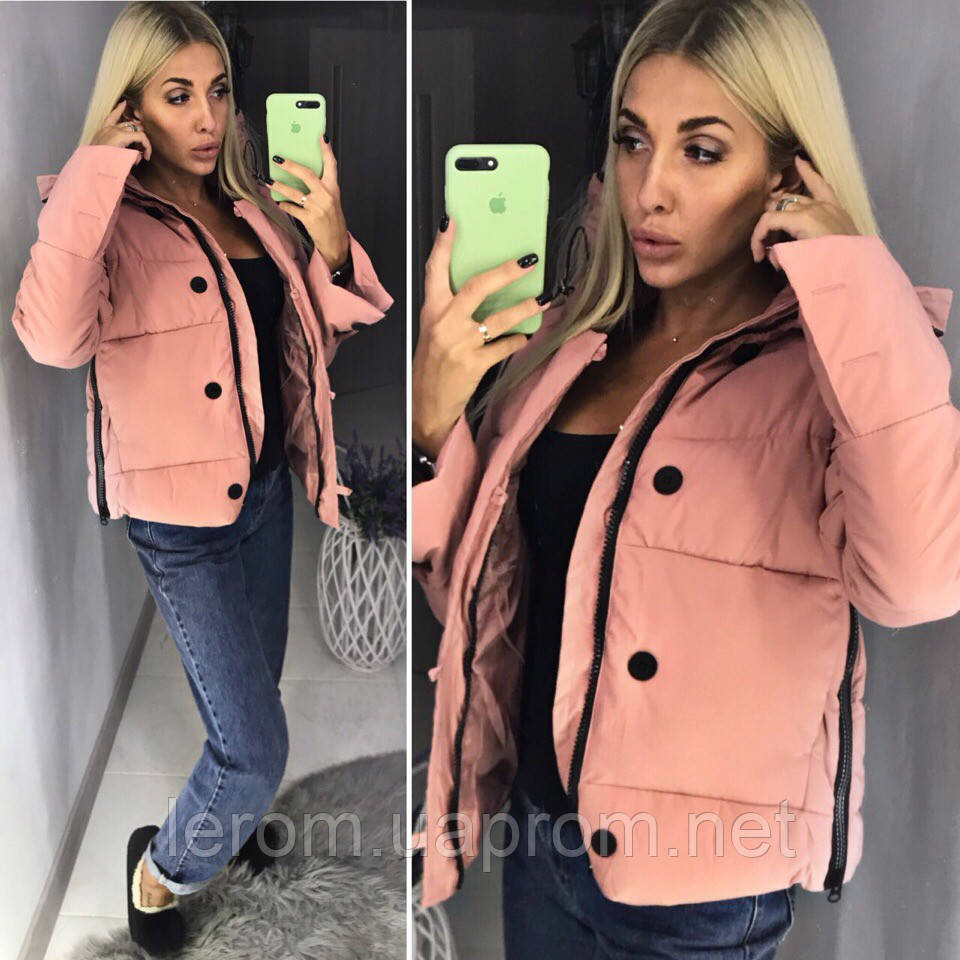 Демисезонная яркая женская куртка 2018/19, разные цвета