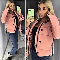 Демисезонная яркая женская куртка 2018/19, разные цвета, фото 1
