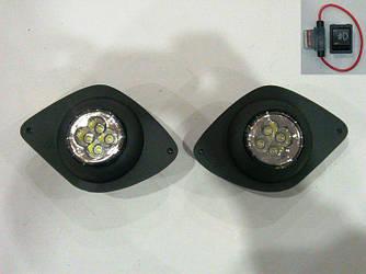 Противотуманки LED (диодные) - Citroen Jumper 2007+ и 2014+ гг.