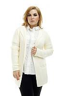Кардиган большого размера вязанный Глория, (8цв), кардиган для полных женщин, одежда большого размера, фото 1