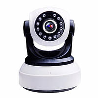 Беспроводная поворотная WiFi IP камера / Видеоняня, фото 1