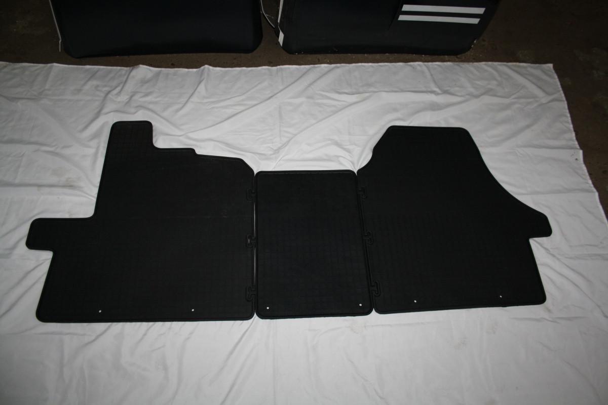 Резиновые коврики (3 шт, Polytep) - Citroen Jumper 2007+ и 2014+ гг.