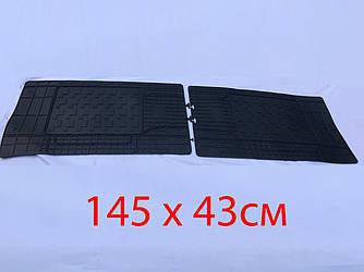 Задние коврики (2 шт, Polytep) - Citroen Jumper 2007+ и 2014+ гг.