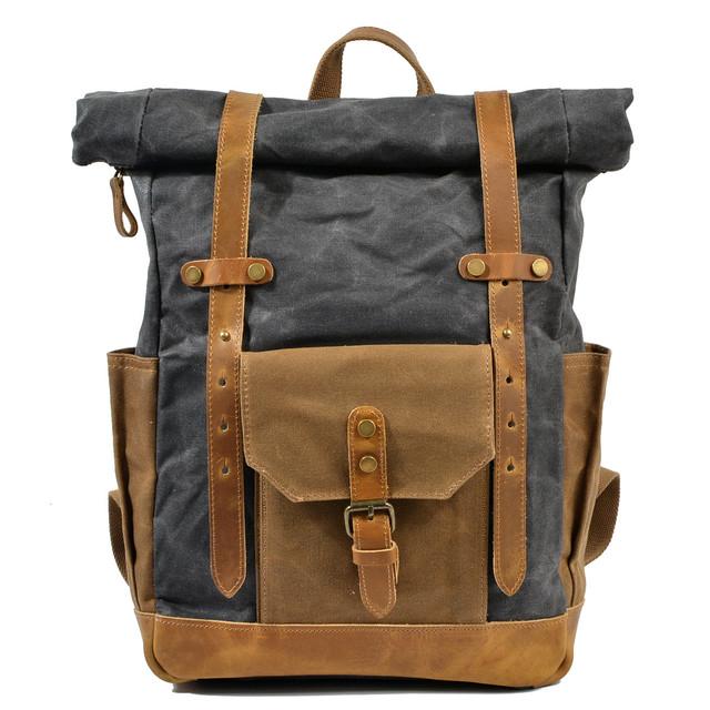 Мужской рюкзак Casual Limited темно-серый