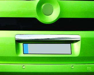Накладка над номером (нерж.) - Citroen Nemo 2008+ гг.