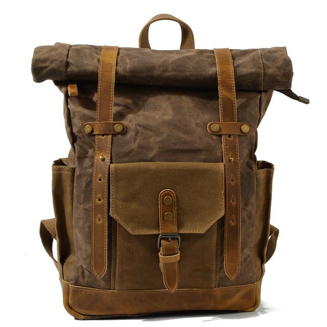 Мужской рюкзак Casual Limited коричневый