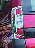 Накладка на стопи з вигином (2 шт., пласт) - Citroen Nemo 2008+ рр., фото 5