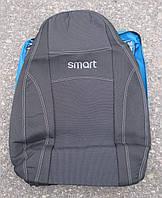 Авточехлы NIKA SMART FORTWO автомобильные модельные чехлы на для сиденья сидений салона SMART FORTWO Смарт Форту
