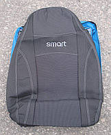 Авточехлы PREMIUM SMART FORTWO автомобильные модельные чехлы на для сиденья сидений салона SMART Смарт FORTWO