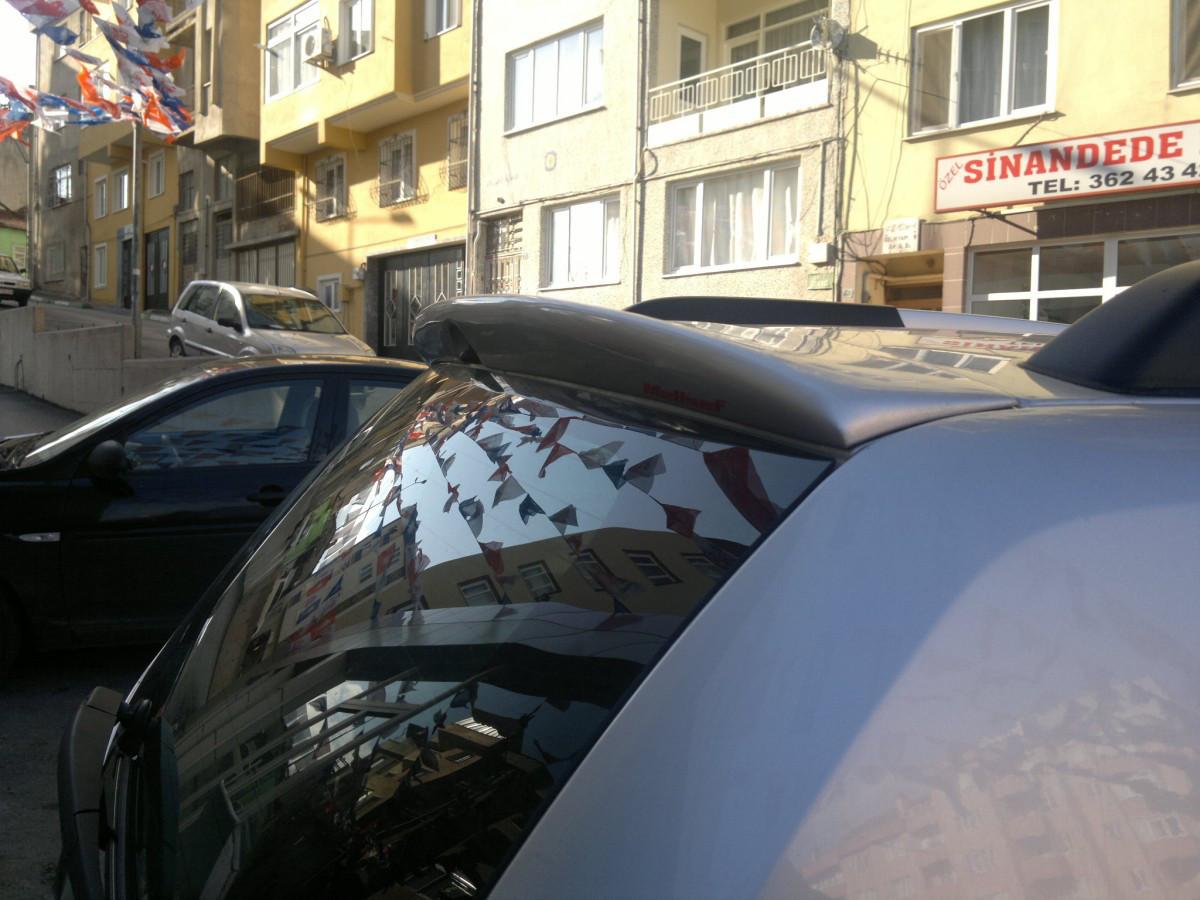 Спойлер (под покраску) - Dacia Duster 2008-2018 гг.