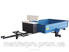 Прицеп-самосвал с тормозами, размер кузова (1050Х1250) грузоподъемность до 350 кг