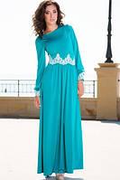 Платье бирюзовое Скарлет