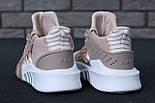 Женские кроссовки Adidas EQT Bask ADV W (Ash Pearl & White). Живое фото. Топ качество! (Реплика ААА+), фото 8