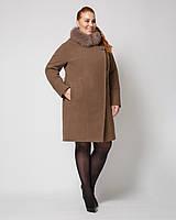 Женское зимнее пальто больших размеров в Украине. Сравнить цены ... 0310c69ad503b