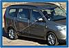 Окантовка вікон (4 шт, нерж.) - Dacia Lodgy 2013+ гг., фото 2