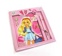 Блокнот детский для девочки розовый