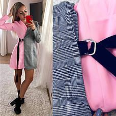 """Платье - пиджак комбинированное  """" Double"""", фото 3"""