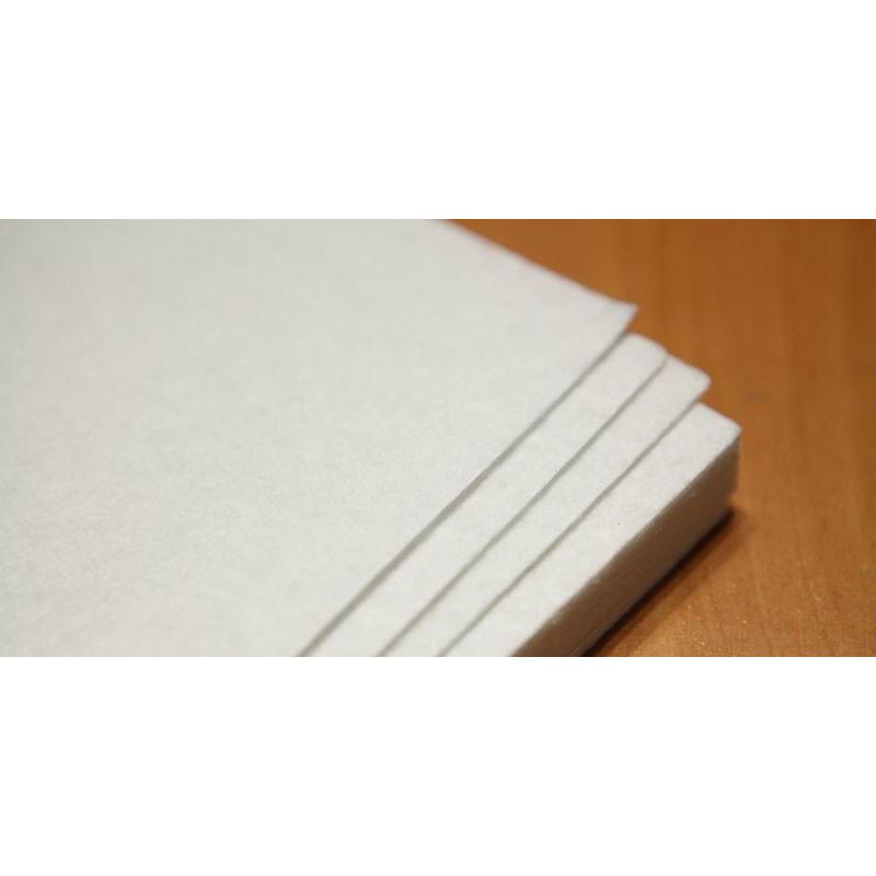 Фетр белый 2 мм, 20х30 см, 10 штук в упаковке, Kidis 7788