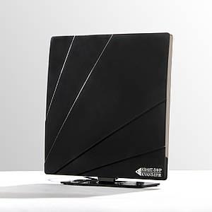 Антена для цифрового телебачення - кімнатна Чорна