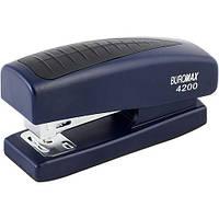 Степлер Buromax BM.4200-02 скоба №24, 26 до 20 листов синий