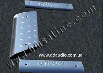 Накладки на внутренние пороги (Omsa, нерж.) - Fiat Doblo I 2001-2005 гг.