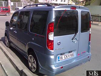 Спойлер Anatomic на распашные (под покраску) - Fiat Doblo I 2001-2005 гг.