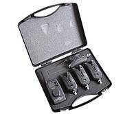 Набор электронных сигнализаторов поклевки Carp Pro Detect 9V 4+1, фото 1