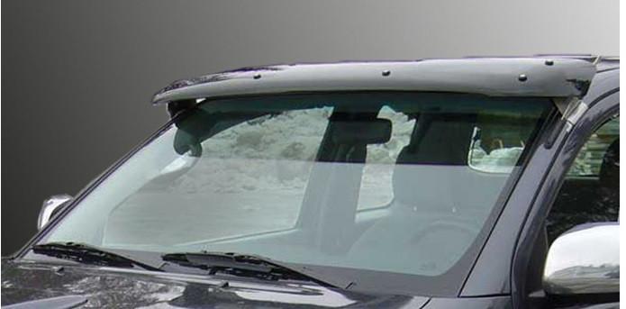 Козырек на лобовое стекло (на кронштейнах) - Fiat Doblo I 2001-2005 гг.