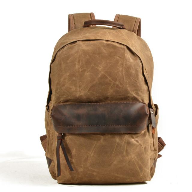 Мужской рюкзак City светло-коричневый