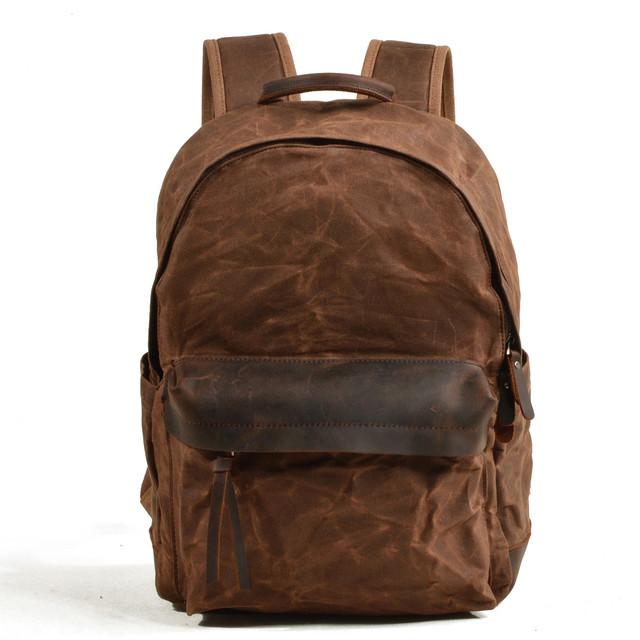 Мужской рюкзак City коричневый