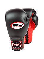 Профессиональные перчатки Twins BGLL-1 black/red 10oz