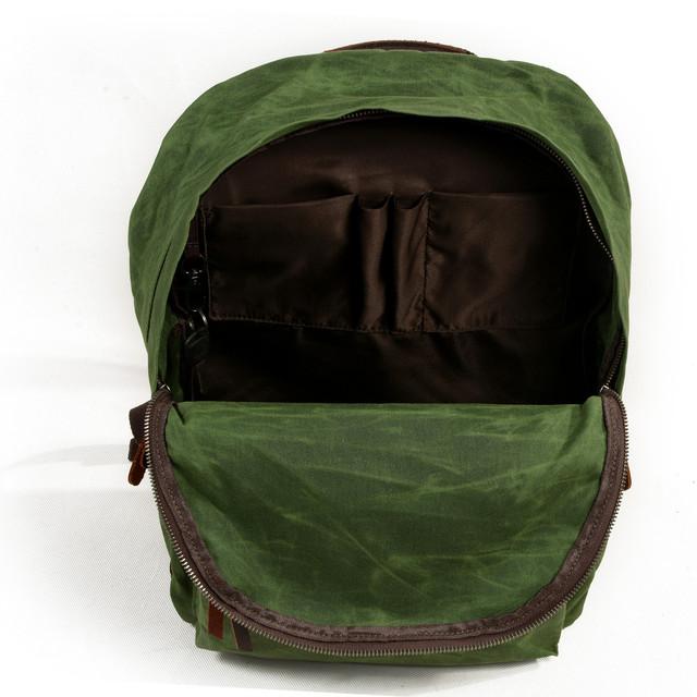 Мужской рюкзак City зеленый