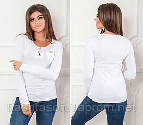 Жіноча кофточка, довгий рукав. 22839