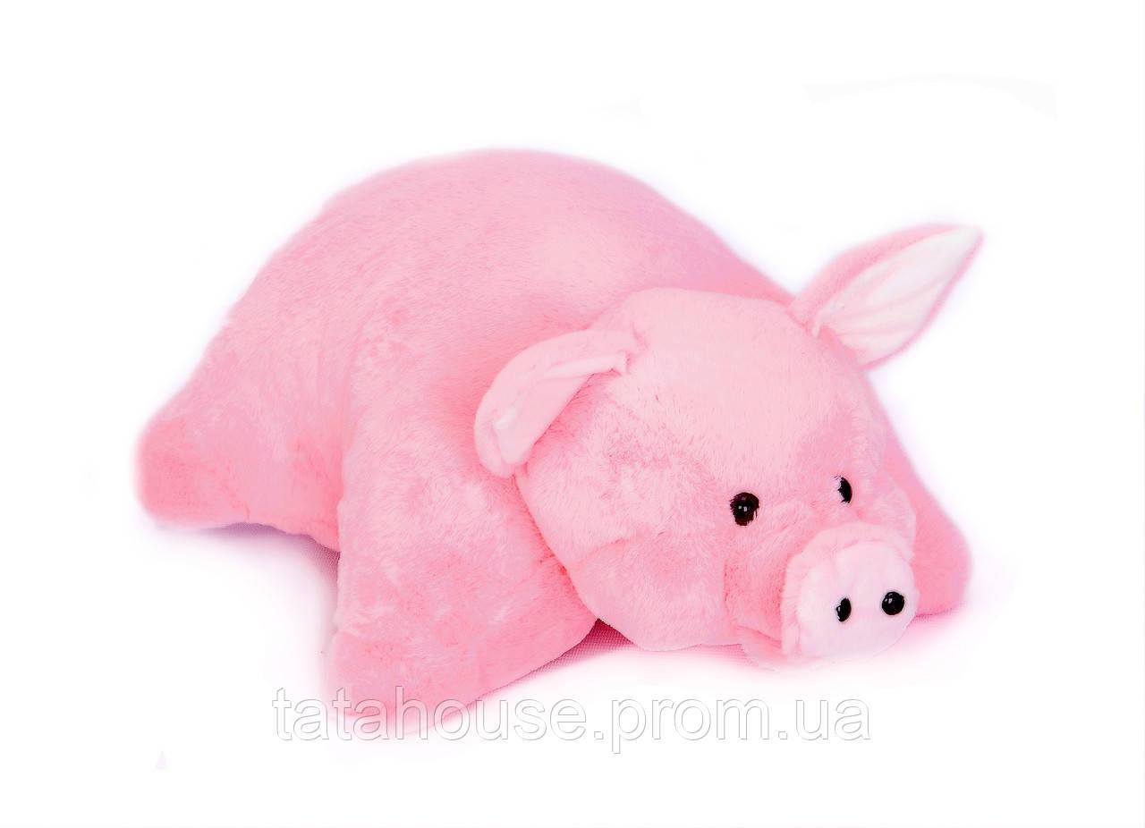 Подушка-игрушка Свинка, 55 см