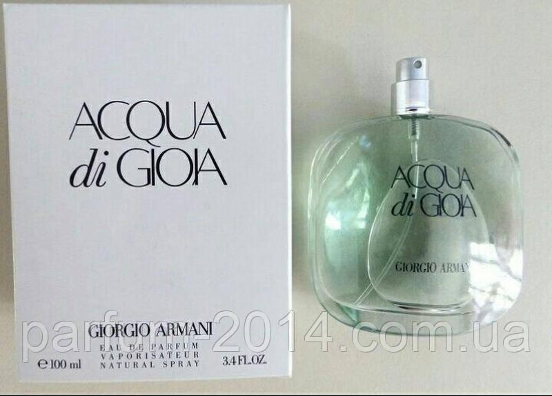 Женская парфюмированная вода Armani Acqua di Gioia tester (реплика)