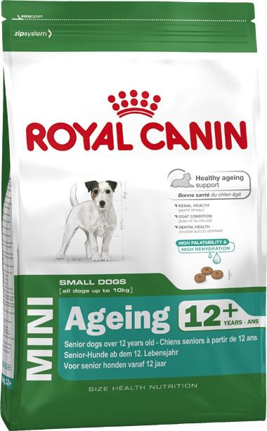 Сухой корм Royal Canin Mini Ageing 12+ для собак мелких пород старше 12 лет 800 г