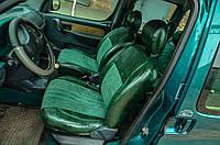 """Модельные чехлы Citroen Berlingo / Ситроен Берлинго I """"Алькантара"""" 1996-2009"""